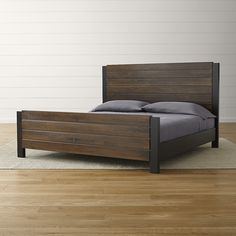 Forsyth King Bed|Crate and Barrel