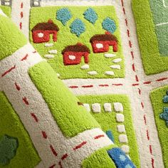 Feizy Rugs Kids u Rugs Kids Town Activity Rug Features Roads Trees Buildings And Lakes