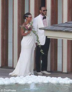 Le mariage de Alicia Keys et Swizz Beatz / Les meilleures photos de mariage de stars