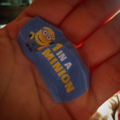 #Larvotto #minions #minionsrule #plaster #wound #hurts #cooking #cut #ouch #stolen from the #kids #fun #cool #funky #love #monaco #october #2015 by sdmasseymc from #Montecarlo #Monaco