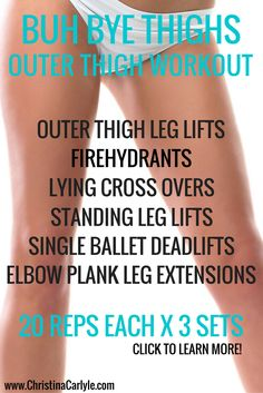 Get your thighs in shape! Follow me on Pinterest for more exercises and tips!