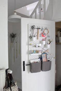 IKEA Skadis Pegboard Ideas & Inspiration. This wall mounted storage option is cheap and easy to DIY to fit any of your small space needs. | Apartment Therapy
