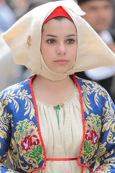 Costume di Meana Sardo - Sardegna #TuscanyAgriturismoGiratola