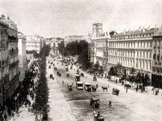 Calle de Alcalá. A l