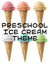 Ice Cream Theme - perfect for summer and National Ice Cream Month (July).  This site has many other themed activities as well!