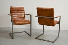 Buffalo Freischwinger Stuhl Light Brown