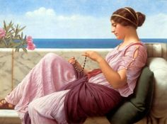 ArtsNyou - Godward A souveneer Painting