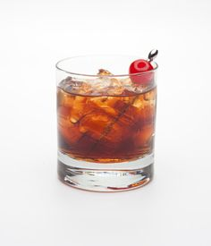 If a Shirley Temple could get you drunk. All you need: whiskey and cherry-flavored brandy. Get the recipe here.