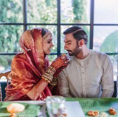 Deepika Padukone, Ranveer Singh share latest wedding pics from haldi, mehendi, Anand Karaj ceremonies. See 17 new photos