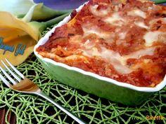 Lasagna di ragù e verdure  #ricette #food #recipes