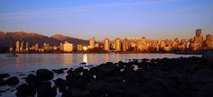 Kitsilano Beach, Vancouver, BC, Canada . AKA where I want to be right now.