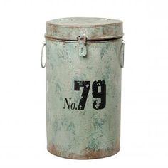 Love this tin jar