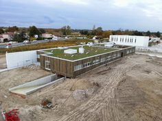 Lycée agro-viticole de Blanquefort (33) : zoom sur l'avancée des travaux.