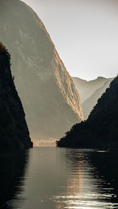 Hall Arm, Doubtful Sound ~ South Island, New Zealand Places To Travel, Places To See, Places Around The World, Around The Worlds, Beautiful World, Beautiful Places, Simply Beautiful, New Zealand Image, New Zealand South Island