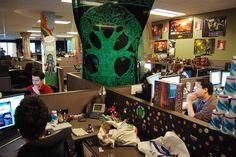 Inside of Blizzard's Office
