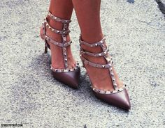 streeTstruT.com: Valentino Rockstud heels @ Milan fashion week SS 2012 Valentino,  #fashion -  #glam  luxury
