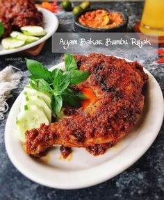 Malaysian Cuisine, Malaysian Food, Malay Food, Asian Recipes, Ethnic Recipes, Post Workout Food, Indonesian Food, Healthy Meal Prep, Chicken Recipes