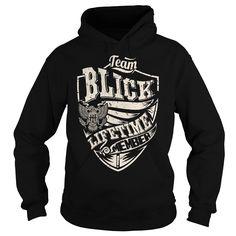 Last Name, Surname Tshirts - Team BLICK Lifetime Member Eagle