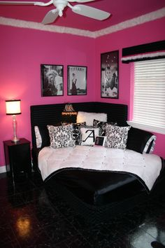 1000 ideas about hot pink room on pinterest pink room room ideas for girls and zebra bedrooms - Hot pink room ideas ...