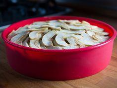Apfelkuchen ohne Zucker mit Dinkelvollkornmehl. Das Rezept findest du auf meinem Blog