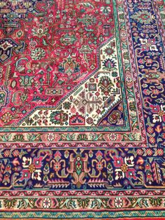 Persian rug is go!