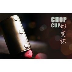 Leather Chop Cup (with Balls) - Trick