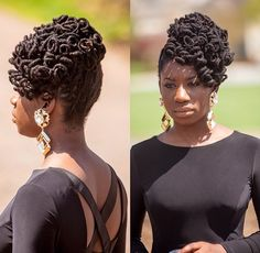 You Should Experience Srt Loc Updo Styles At Least Once In Your Lifetime And Here's Why Dreadlock Hairstyles, African Hairstyles, Up Hairstyles, Wedding Hairstyles, Dreadlock Styles, Dreads Styles, Updo Styles, Pin Up Hair, My Hair