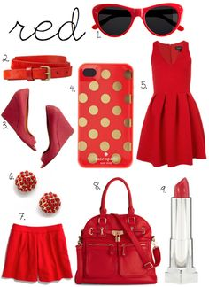 All things red just lovely
