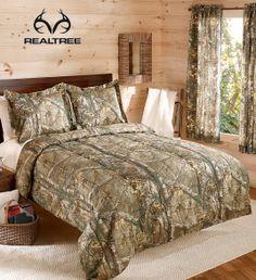 #New Realtree Xtra Camo Bedding Set Starts From $46.99  #realtreextra #camobedding