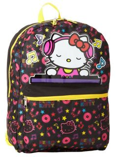 Hello Kitty DJ Backpack Dj Kitty fc5b756178e98