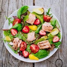 #salad#salmon#healthy#goodlife