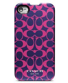 COACH SIGNATURE IPHONE 4 CASE - Coach Accessories - Handbags  Accessories - Macy's