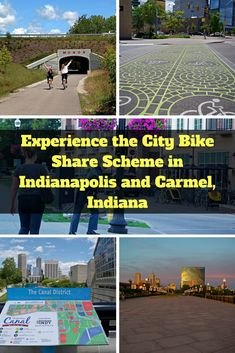 Experience the city bike share scheme in Indianapolis and Carmel, Indiana