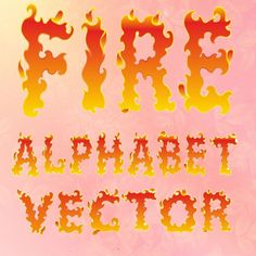 Fire Alphabet Fire Letters Clipart PNG Instant Download Fire Digital Alphabet…