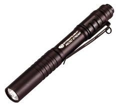 Streamlight 66318 MicroStream C4 LED Pen Flashlight by Streamlight. $17.00. Amazon.com                Compact and lightweight, the Streamlight MicroStream is a portable penlight with a super-bright, high-flux LED that lasts up to 30,000 hours. Featuring a tail-cap switch for single-handed operation, and durable and water-resistant materials for use in extreme conditions, the Streamlight MicroStream Penlight is ideal for daily use at home or at work. MicroStream Pen...