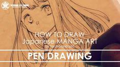 ✔ Pen Drawing | How to draw Manga Art 2018.01.12
