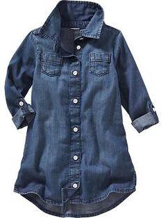 Denim Shirt Dress for Baby | Old Navy