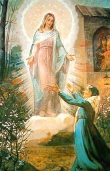 Blessed Mother Mary, Blessed Virgin Mary, Jesus Faith, Jesus Christ, St Therese Of Lisieux, Catholic Religion, Mary And Jesus, Holy Mary, My Favorite Image
