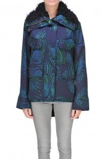 Stella McCartney - Cappotto parka in tessuto jacquard :: Glamest Luxury Outlet Online Donna