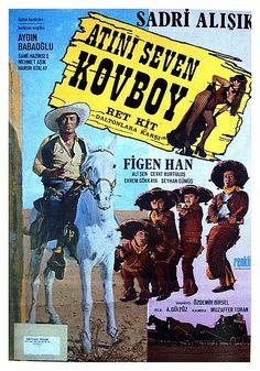 ATINI SEVEN KOVBOY 1974 Film Posters, Film Movie, Erotica, Comic Books, Comics, Cover, Image, Films, Art