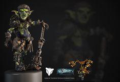 Blizzardfest Goblin Tinker on Behance