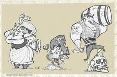 Pirates by reiq.deviantart.com on @deviantART