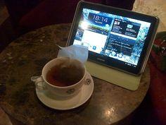 Tea time @Nhu Burgoyne Bean
