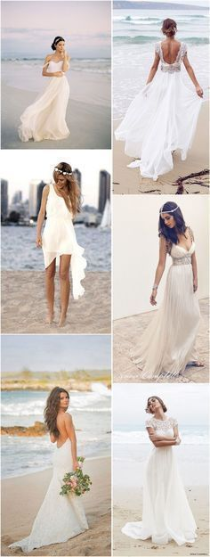 Beach Wedding Dresses » Top 22 Beach Wedding Dresses Ideas to Stand You out » ❤️ See more: http://www.weddinginclude.com/2017/04/top-beach-wedding-dresses-ideas-to-stand-you-out/ #beachweddingdresses