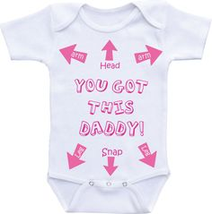 Funny baby clothes Funny baby girl onesie by DAIICHIBANdesigns