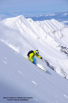 You can ski Bridger Bowl when staying at the homes (about 45 minutes away) OR Big Sky/Moonlight (a longer drive).