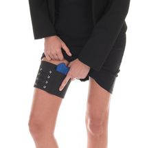 Thigh holster for concealed carry with a skirt Concealed Carry Women, Concealed Carry Holsters, Camo Guns, Hunting Guns, Black Garter, Love My Man, Guns And Ammo, Country Girls, Things To Buy