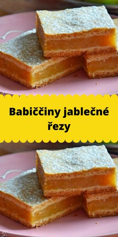 Czech Recipes, Ethnic Recipes, Cornbread, Food Art, Nutella, Ham, Deserts, Dessert Recipes, Food And Drink
