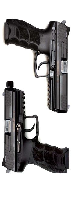 HK (Longslide) and with threaded barrel. John Wick, the movie, features the titular hero, played by Keanu Reeves, carrying one of these with a compensator. Fire Powers, Home Defense, Cool Guns, Assault Rifle, Guns And Ammo, Survival Gear, Tactical Gear, Shotgun, Firearms