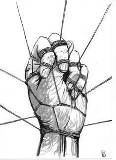 Pablo Barrio Tena: (hu)Manos y cuerdas. Art, Ropes, Hands, Art Background, Kunst, Performing Arts, Art Education Resources, Sanat
